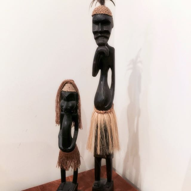 Timber Statues