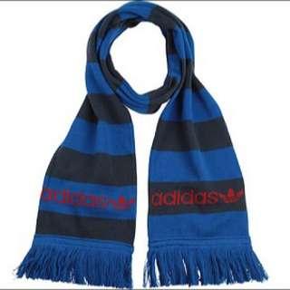 Adidas 三葉草中性圍巾
