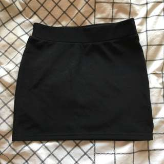 Black Party Skirt