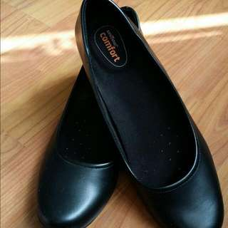 Worn Once Black Shoes From Payless Shoestore (Ladies Size 7.5)