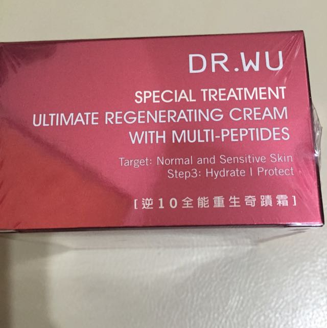 Dr. Wu 逆10全能重生奇蹟霜