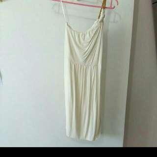 BN White Toga Dress