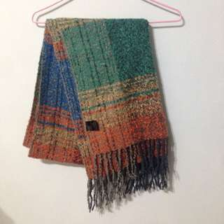 Queen Shop圍巾 混色 保暖