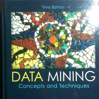 Data Mining: Concepts and Techniques 資料挖礦