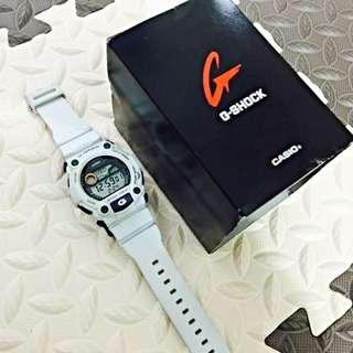 二手G-SHOCK G-7900A-7 內建月相與潮汐•超大LCD時間顯示幕•防水200米