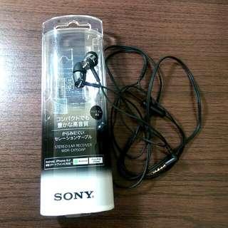 (待匯)Sony高音質可通話耳塞式耳機(黑色含運)