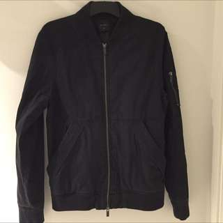 Nique Black Bumper Jacket