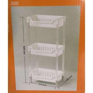 【全新】三層架 功能架 隙縫架 置物架 廚房收納 浴室收納 整理架 收納架