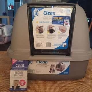 $50 - Jumbo BRAND NEW Hooded Cat Litter Pan