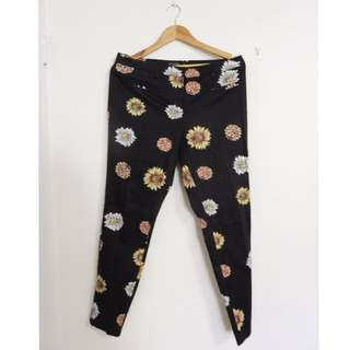GLASSONS FLORAL FITTED PANT