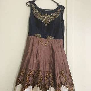 Designer Gown. Size Medium To Small