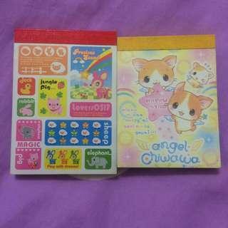 ✨日本帶回小便條紙-小鹿&小貓版✨