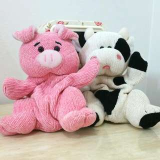 Piggy And Moo Hand Puppets