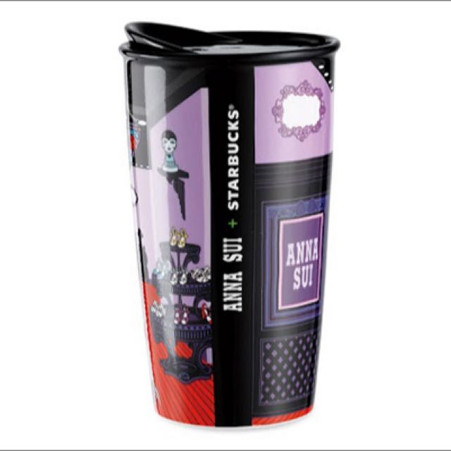 2015 Starbucks X Anna Sui 聯名馬克杯 全新 無盒