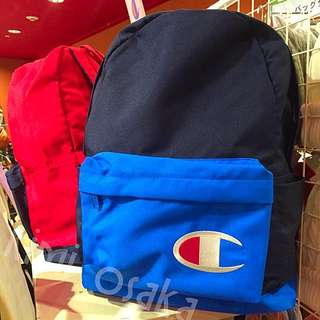 🇯🇵日線Champion 日本直送 🇯🇵早春新款 Champion撞色系帆布後背包 保證真品 實體店購買