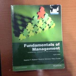 管理學 原文書 Fundamentals of Management