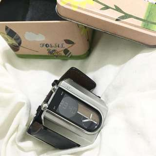 Fossil 復古方錶 (正品)