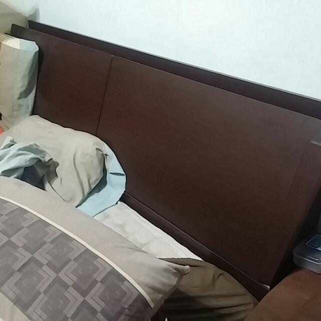 6尺雙人掀床組,含床頭(可置物)