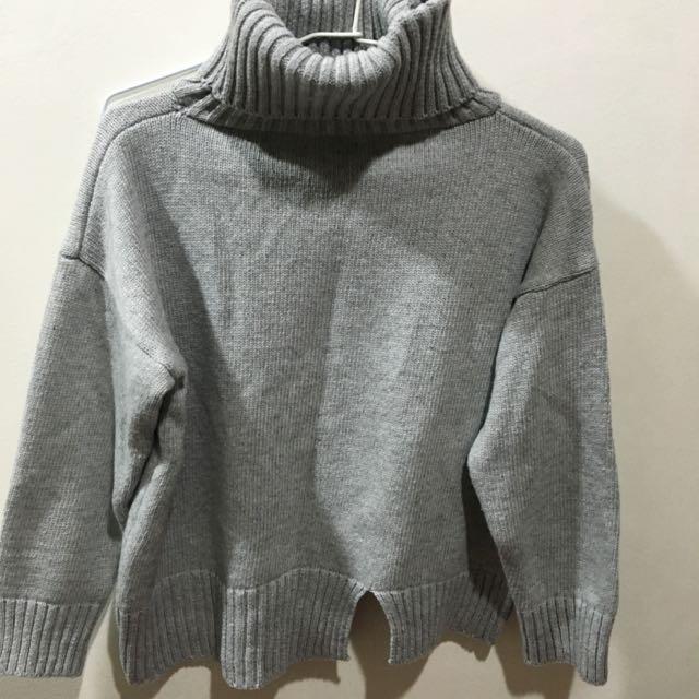 套頭針織毛衣