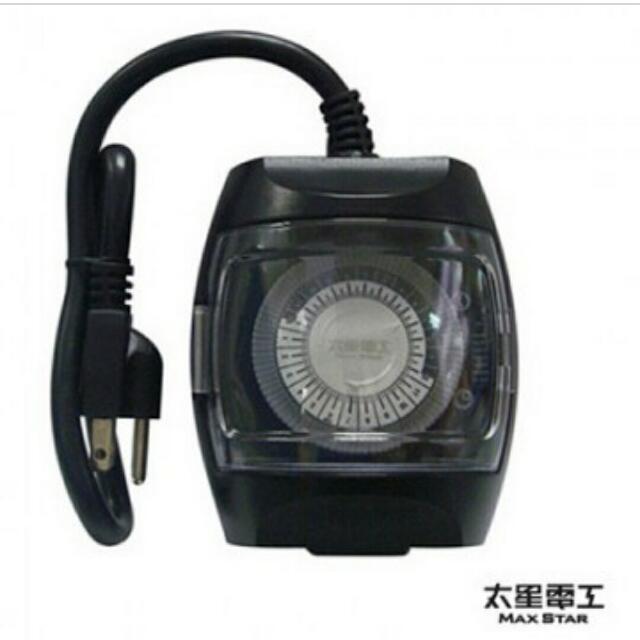 太星電工 省電家族屋外型機械式定時器/3P (OTM401)
