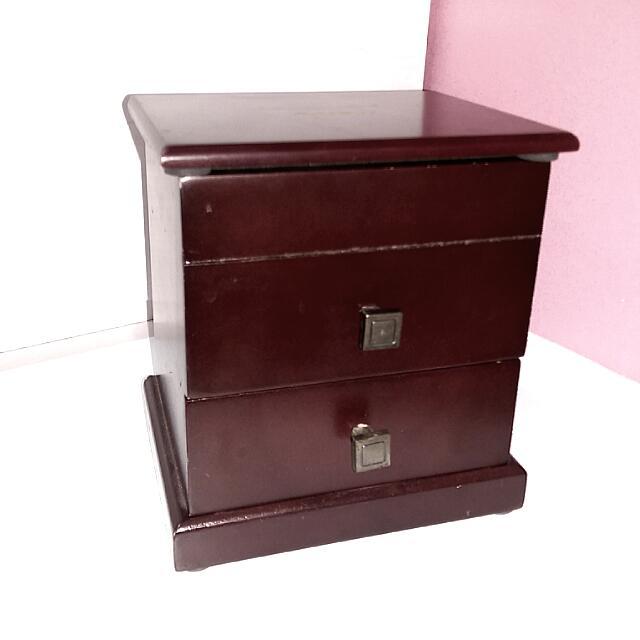 御🌸木質珠寶盒 深咖啡