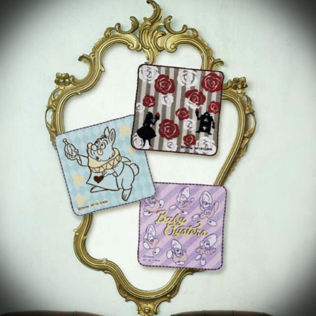 日本 一番賞 愛麗絲 夢遊仙境 小方巾 擦手巾