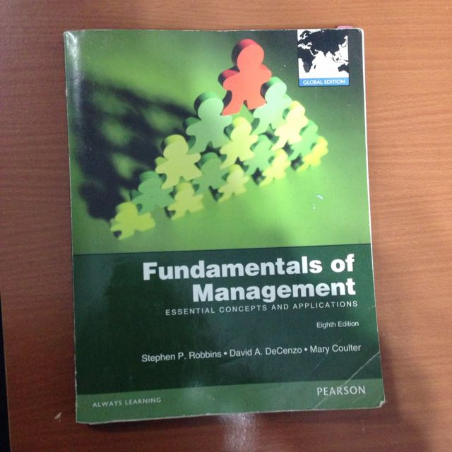 管理學 原文書 Fundamentals of Management
