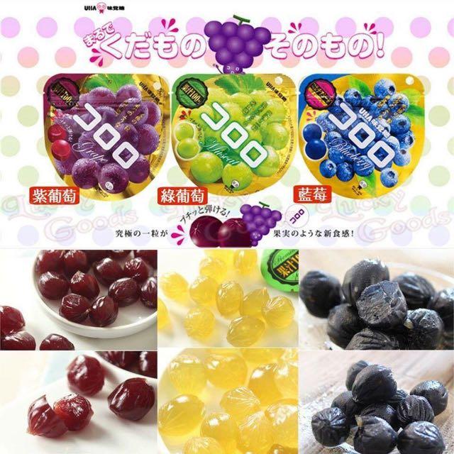 🎉熱賣補貨✨ 日本原裝 《UHA kororo果實QQ軟糖》