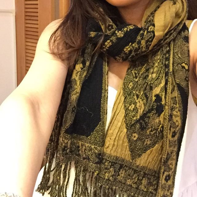 含運 二手 Forever21 印度風圍巾