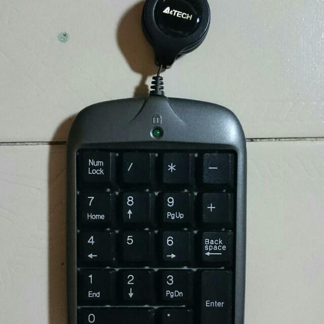 A4tech retractable laptop keypad