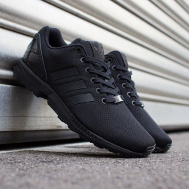 the latest 28ed5 2ca51 adidas zx flux full black