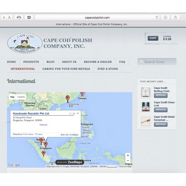 Cape Cod® Polish Singapore Exclusive Distributor *Important