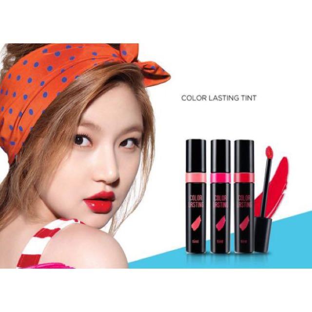 Aritaum color lasting tint 持色唇釉