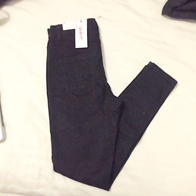 BRAND NEW -Supre Black Skinny Jean