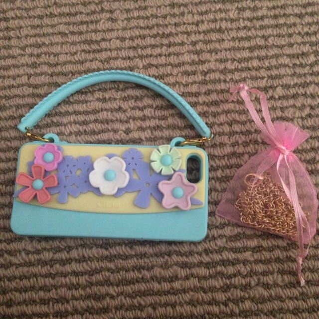 Cliche Floral Handbag iPhone 5/5s Case