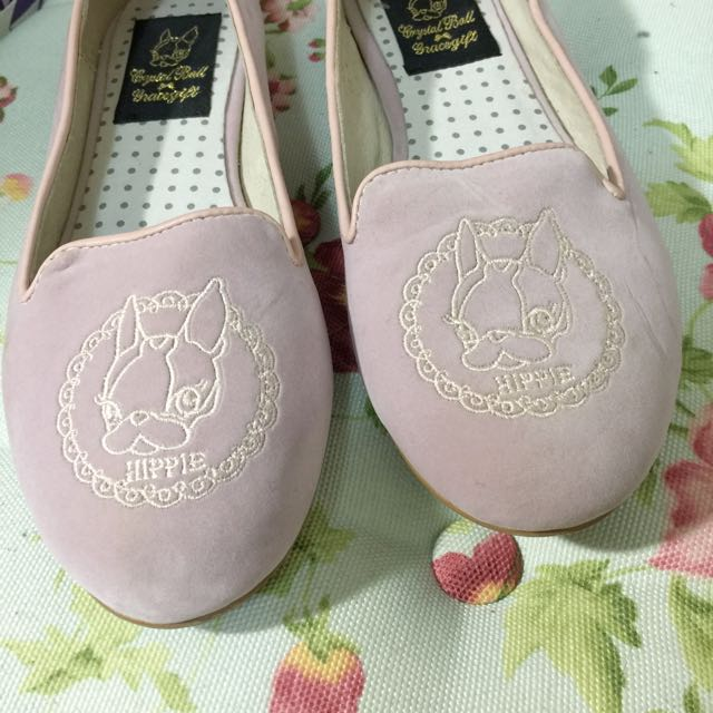 Gracegift X Category聯名平底娃娃鞋