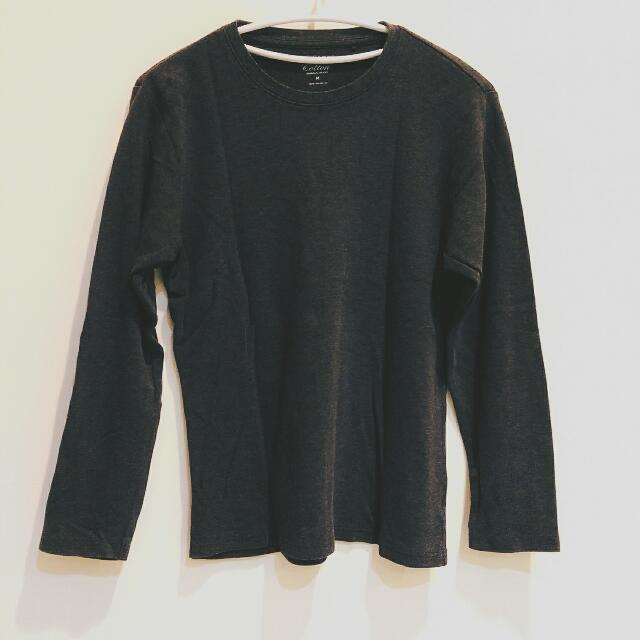 lativ 鐵灰長袖衫