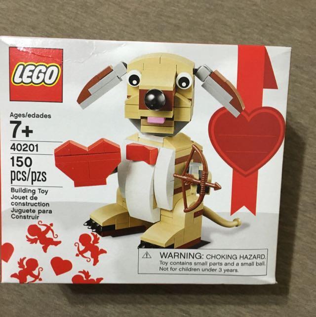 Lego 40201 情人節限定款