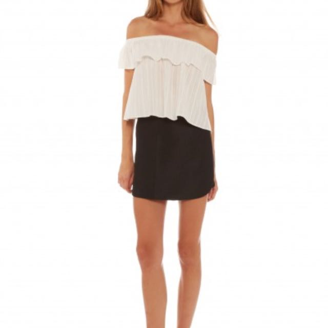 Lulu & Rose Lennon Off The Shoulder Top