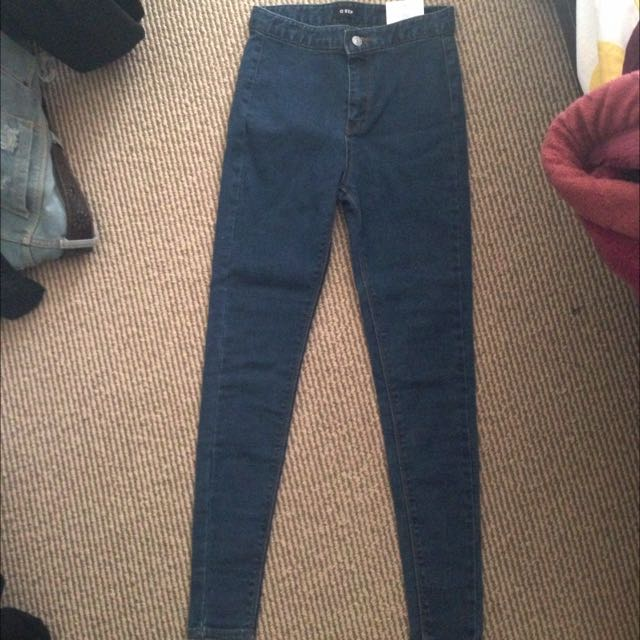StyleNanda High Waist Super Skinny Jeans