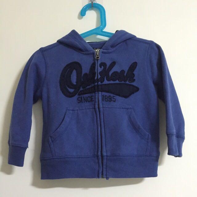 Oshkosh 外套-藍 2T