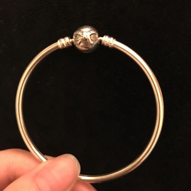PANDORA硬環17cm(蝴蝶結)
