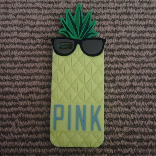 PINK pineapple iPhone5/5s Case
