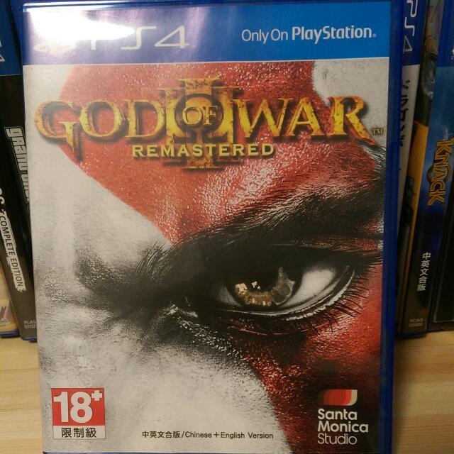 PS4 戰神 二手(商品價格含運