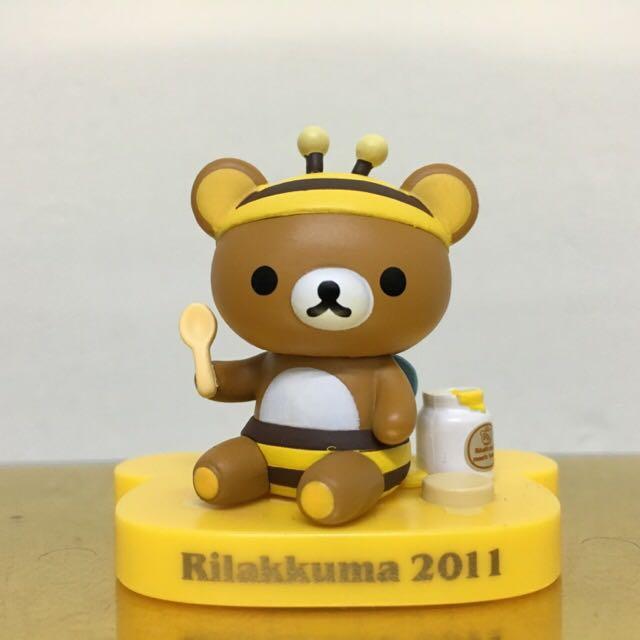 Rilakkuma 一番賞 2011 拉拉熊 蜜蜂裝