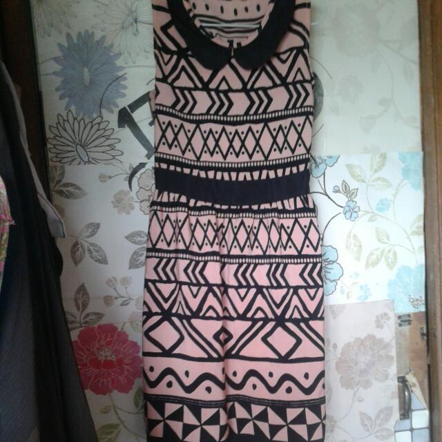 tribal pink dress #prelove