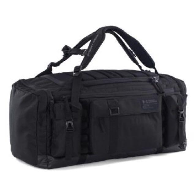 UA Under Armour 雙背兼備 兩用 旅行袋 黑 背包 Nike Adidas Jordan