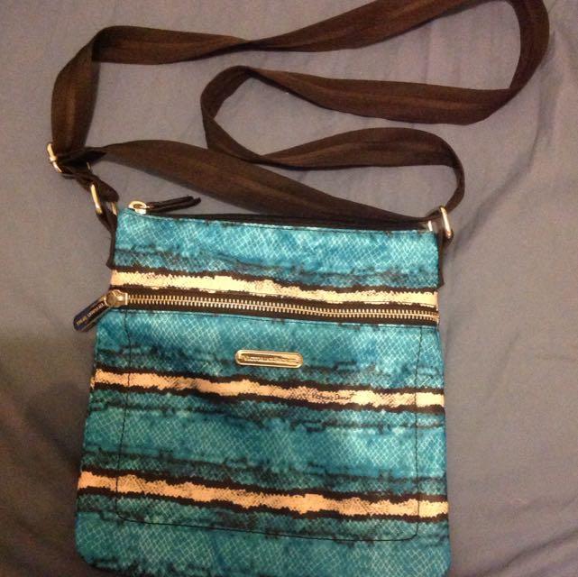 Victoria's Secret Blue Shoulder Bag