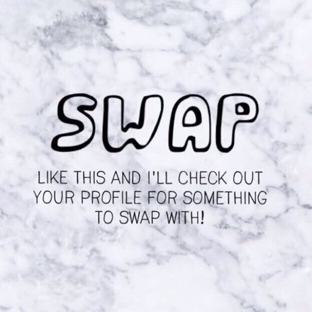 Who'd Wanna Swap? 🙃✌🏻