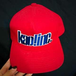 KAOLINC 顏社 Snapback紅